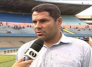 Leonardo Souza deixou o Gêmio Anápolis na última segunda-feira (Foto: Reprodução/PremiereFC)