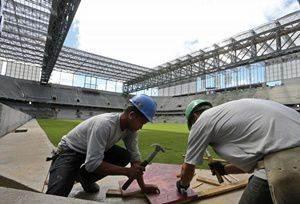 Estádio quase ficou fora da Copa do Mundo 2014