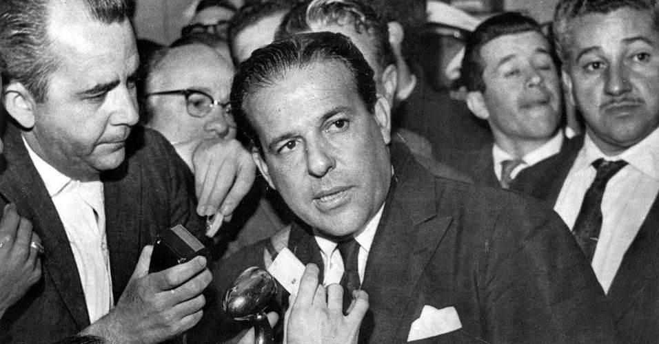 Presidente João Goulart em setembro de 1961, pouco antes do início da ditadura (Foto: Reprodução)