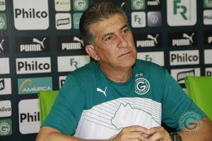 Drubsky muda o time para o jogo de hoje. (Foto: Site oficial do Goiás)