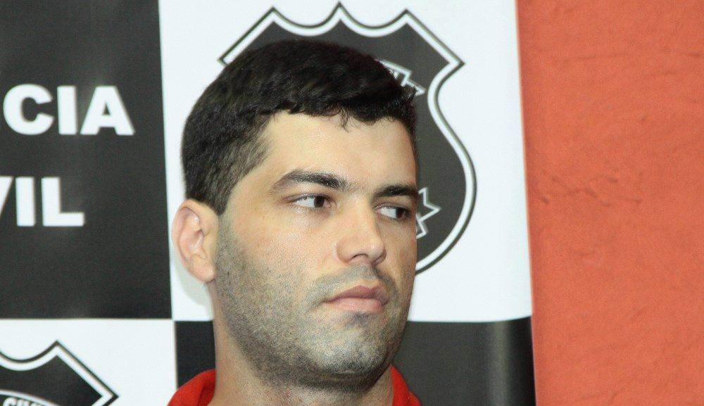Tiago Henrique está preso no Núcleo de Custódia, em Aparecida de Goiânia