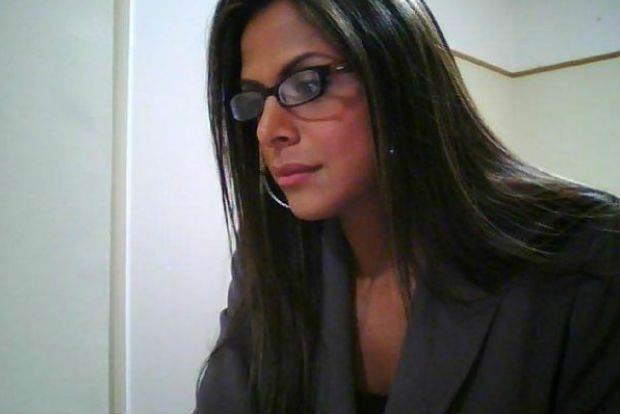 Em 2003, Sylvie foi eleita a musa do telejornalismo goiano / Foto: divulgação