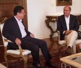 Marconi estava em São Paulo desde a última quinta-feira, 30/10, onde descansou, após a campanha do segundo turno, ao lado da primeira-dama Valéria Perillo
