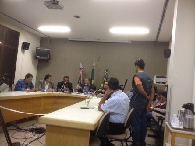 CEI ouve ex-secretários (Foto: Divulgação)