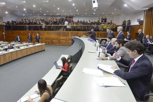Plenário da Alego (Foto: Y. Maeda)