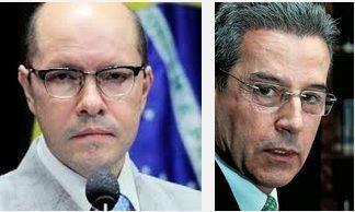 Demóstenes Torres e Luiz Estevão