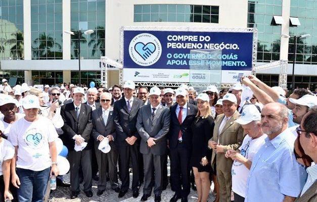 Governador Marconi Perillo participou do evento (Foto: Divulgação governo de Goiás)