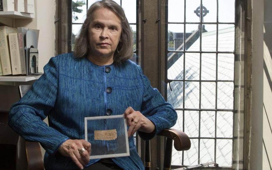 Profª. de Divindade na Universidade de Harvard, Karen King (Foto: Reprodução)
