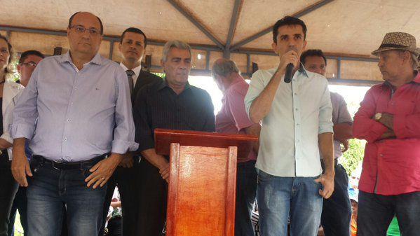 Ormando discursou na troca de comando da Comurg (Foto: Divulgação prefeitura de Goiânia)