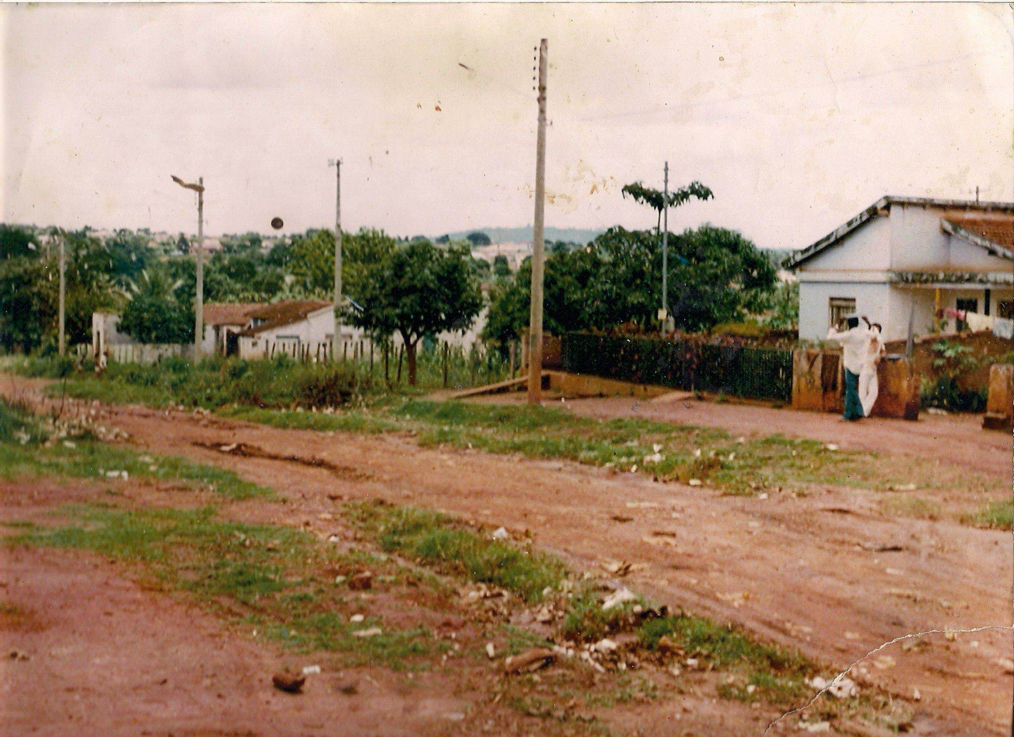 Rua C-120 em 1980