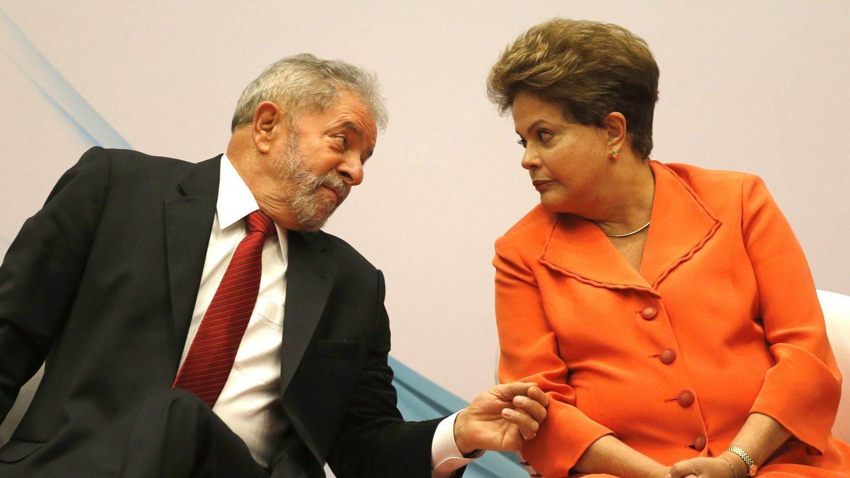 Ex-presidente Lula e presidente Dilma (Foto: Reprodução)