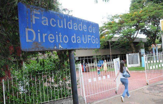Faculdade de Direito da UFG é a única aprovada pela OAB em Goiás (Foto: Reprodução)