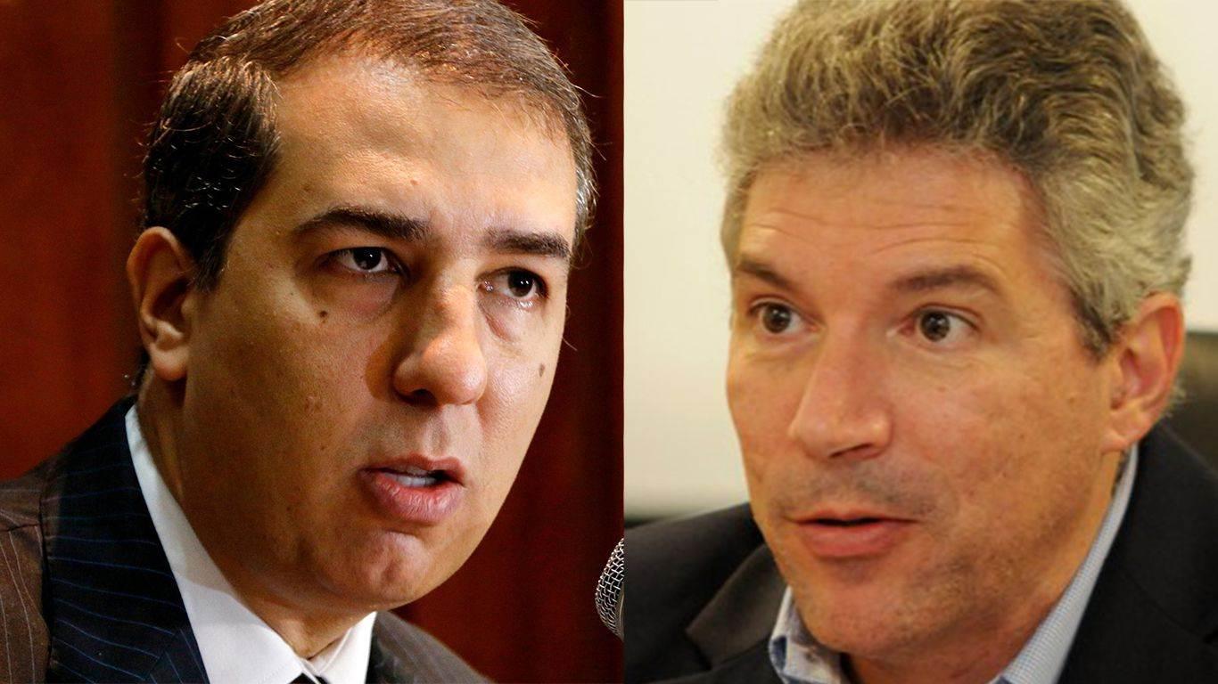 Vice José Eliton e trocou farpas com o procurador Hélio Telho pelo Twitter (Foto: Reprodução)