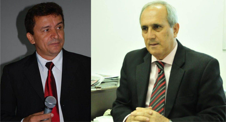 Ezizio Barbosa e Euler de Morais (Foto: Montagem)