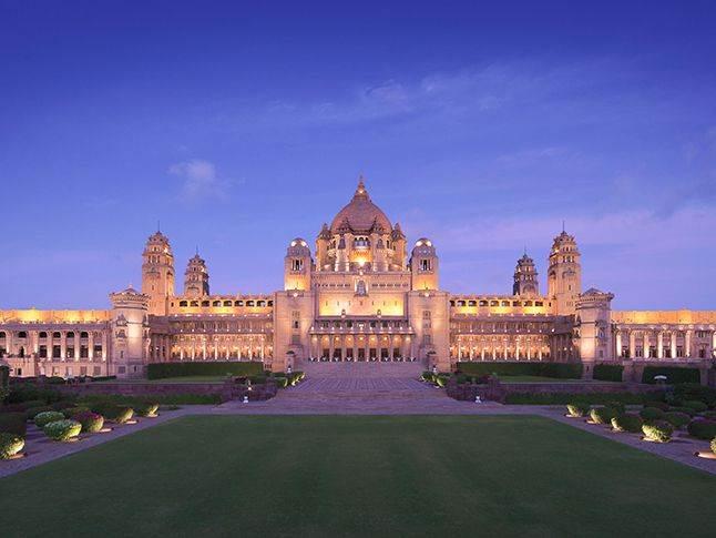 Palácio Umaid Bhawan (Foto: Reprodução)