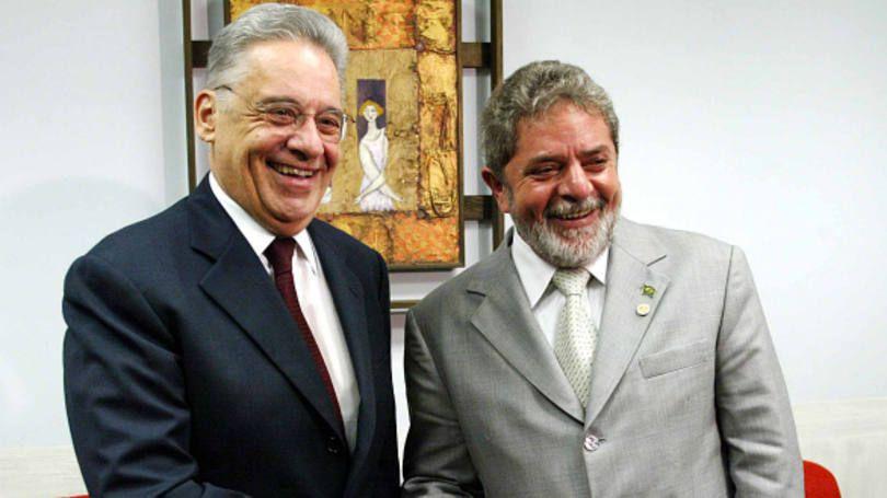 Os ex-presidentes Fernando Henrique Cardoso e Luiz Inácio Lula da Silva, cada qual ao seu modo, cumpriram o script da governabilidade e por isso foram bem avaliados / Foto: divulgação