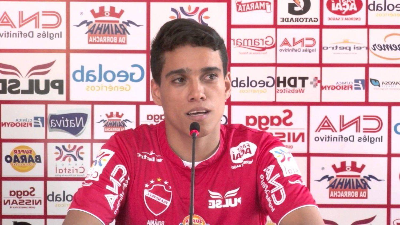 Wendell Lira não é mais jogador do Vila Nova (Foto: Reprodução)