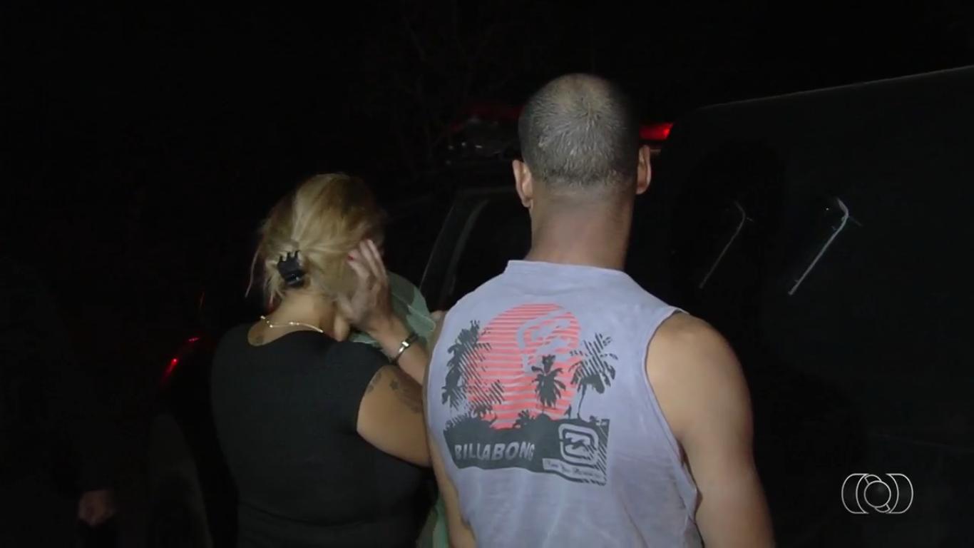 Casal matou uma mulher que diz ser portadora do vírus HIV   Foto: Reprodução / TV Anhanguera