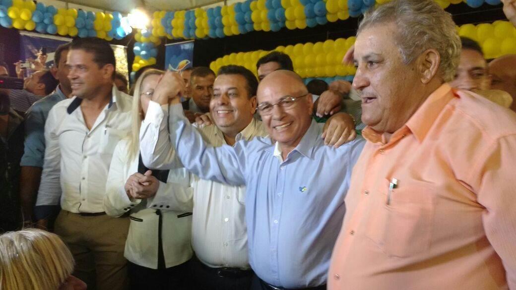 Professor Alcides lançou pré-candidatura em Aparecida de Goiânia (Foto: Guilherme Coelho)