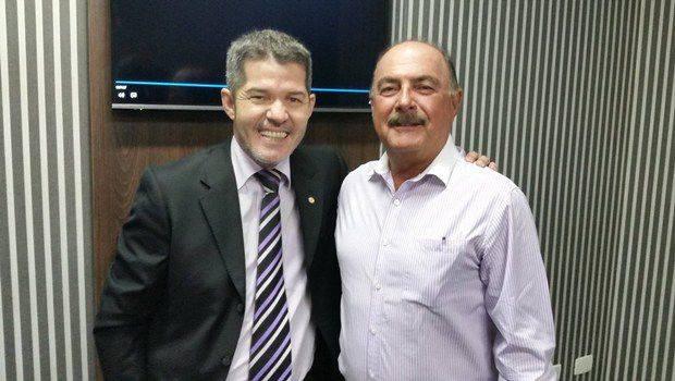 Delegado Waldir e o médico Zacharias Calil (Foto: Reprodução/Facebook)