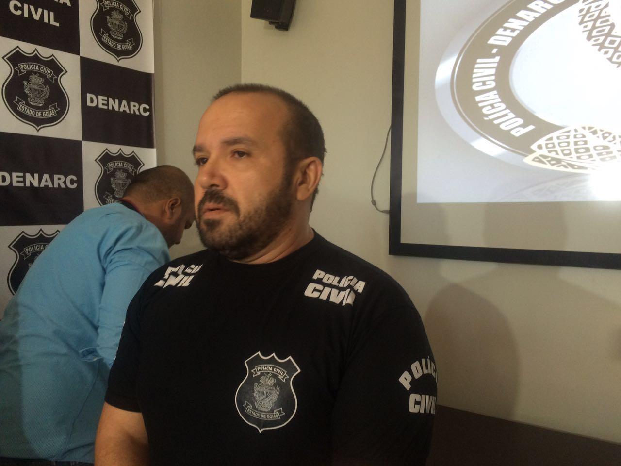 Polícia prende homem suspeito de traficar drogas em Goiânia|Foto: Jerônimo Junio/ Portal 730