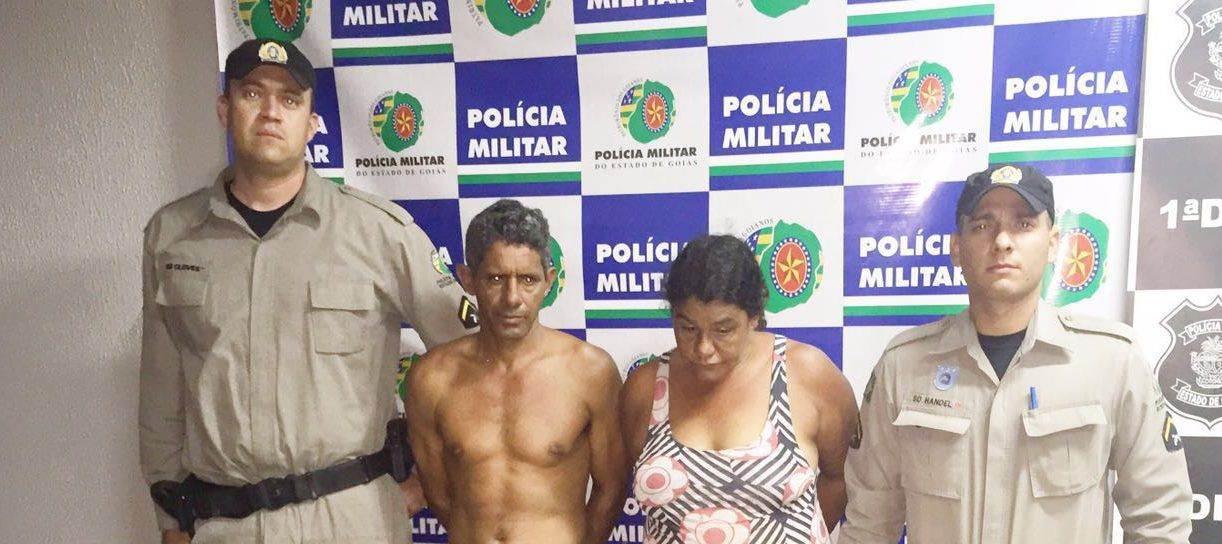 Família foragida é presa após atitude suspeita  Foto: Reprodução/PMGO