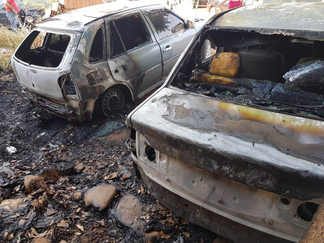 Incêndio no Hospital Materno Infantil, em Goiânia | Foto: Folha Z