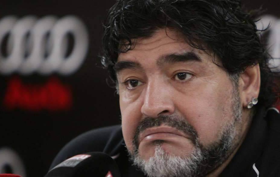 Craque argentino Diego Maradona (Foto: Reprodução)