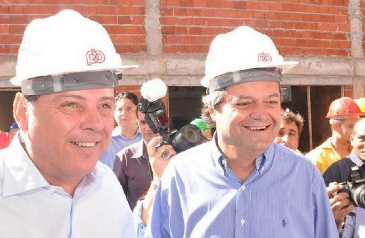 Marconi Perillo e Jayme Rincón (Foto: Reprodução)