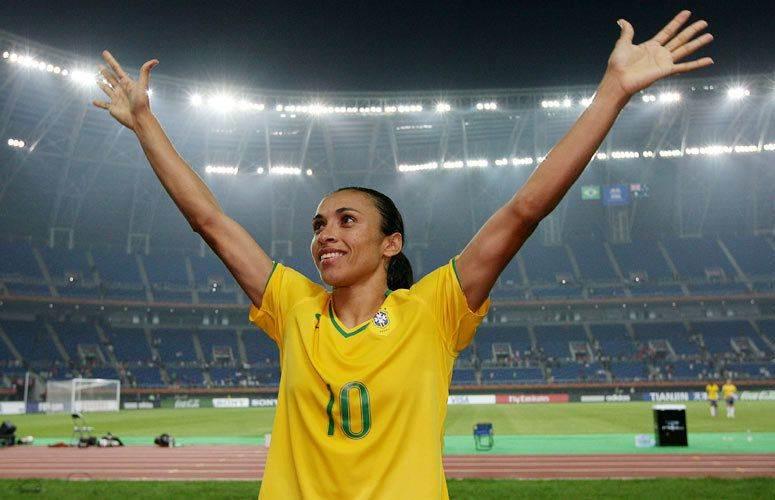 Marta é destaque do futebol brasileiro nas Olimpíadas Rio-2016 (Foto: Reprodução)