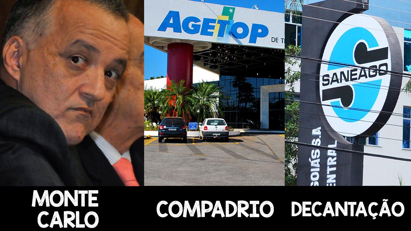 Operações Monte Carlo, Compadrio e Decantação sacudiram os noticiários no Estado (Foto: Montagem)