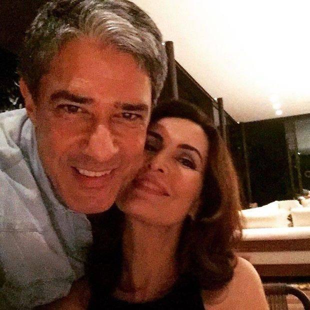 William Bonner e Fátima Bernardes anunciam fim de casamento  Foto: Ego