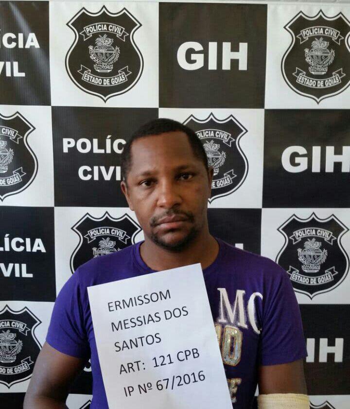 Lojista é preso suspeito de matar cliente  Foto: Reprodução/Polícia Civil