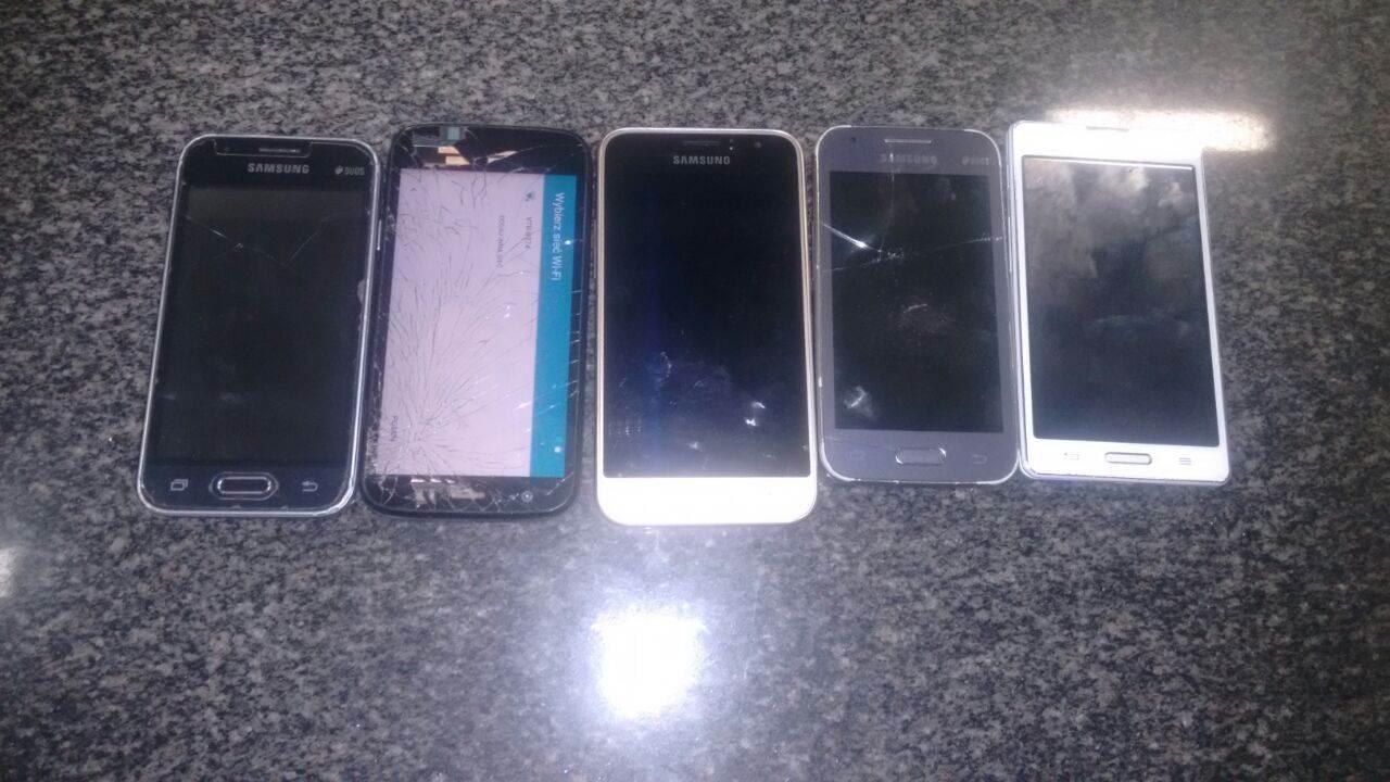 Adolescente de 15 anos é suspeito de ter receptado celulares roubados na região |Foto: Reprodução/Polícia Militar