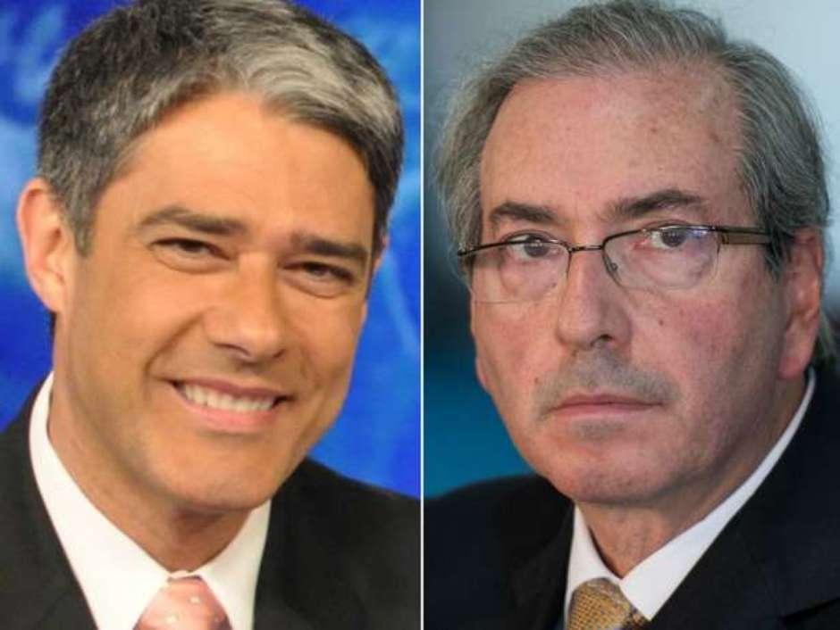 """Cunha ataca a Globo; a empresa rebate: """"A Globo não se sente atingida pela acusação do deputado cassado Eduardo Cunha""""   Foto: Reprodução"""