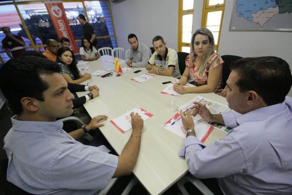 Nove candidatos do PTdoB declaram apoio ao Vanderlan Cardoso  Foto: Divulgação/Assessoria de Imprensa