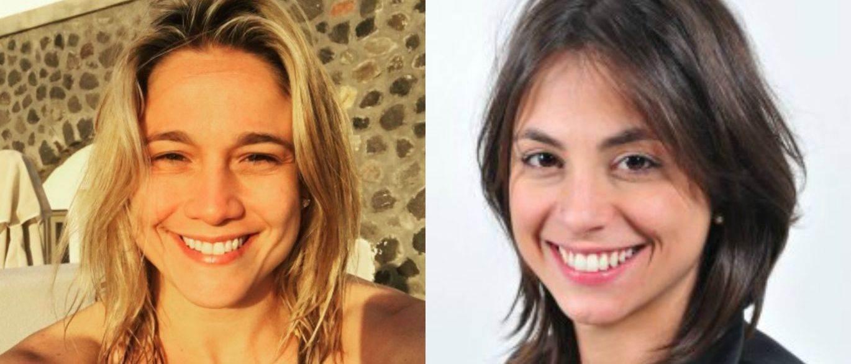 Fernanda Gentil assume namoro com outra jornalista do Rio Grande do Sul| Foto: Montagem