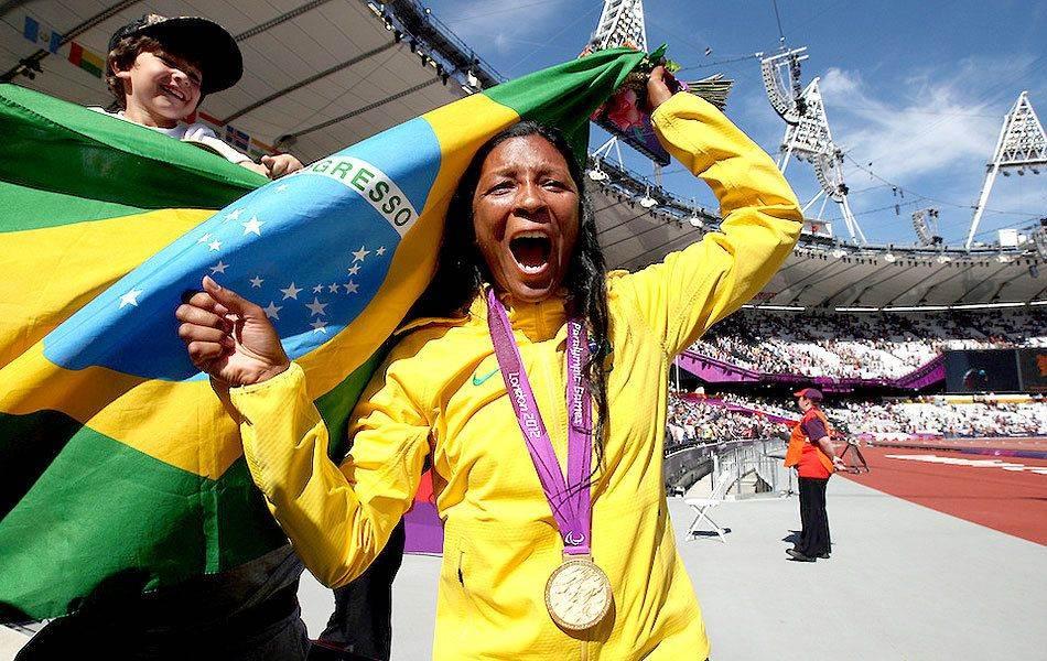 Shirlene Coelho é esperança de ouro para o Brasil (Foto: Reprodução)