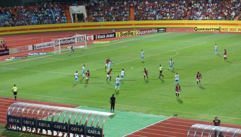 Atlético vence o Paysandu no Olímpico