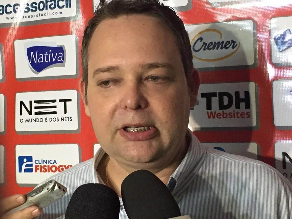 Gutemberg Veronez renuncia ao cargo de presidente do Vila Nova| Foto: Divulgação