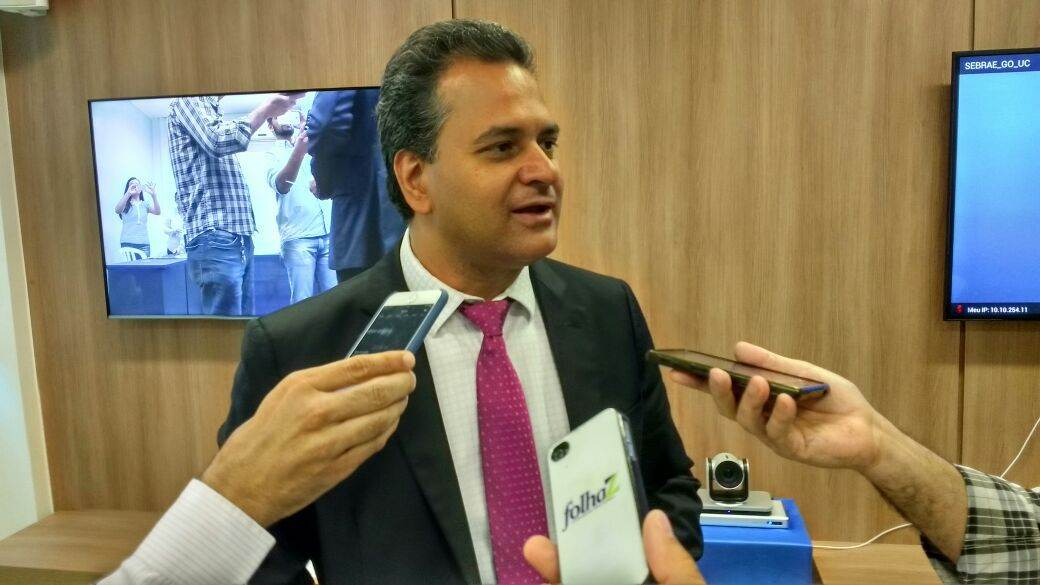 Igor Montenegro apresenta projeto Crescer Sem Medo (Foto: Guilherme Coelho)