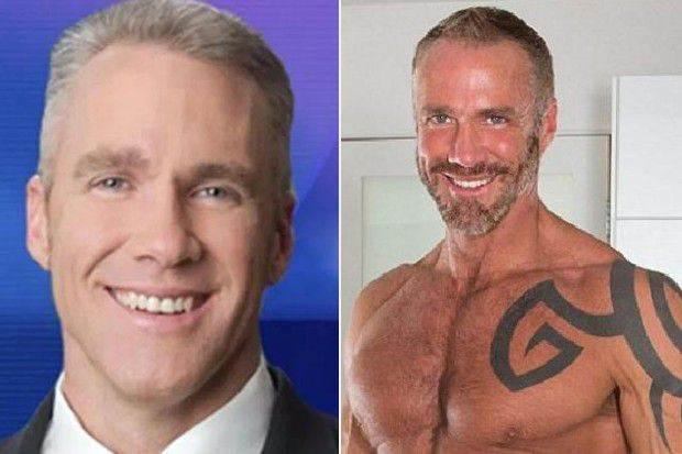 Antes de se tornar ator pornô, ele trabalhou como jornalista durante 23 anos| Foto: Reprodução/Twitter/Dallassteelexxx