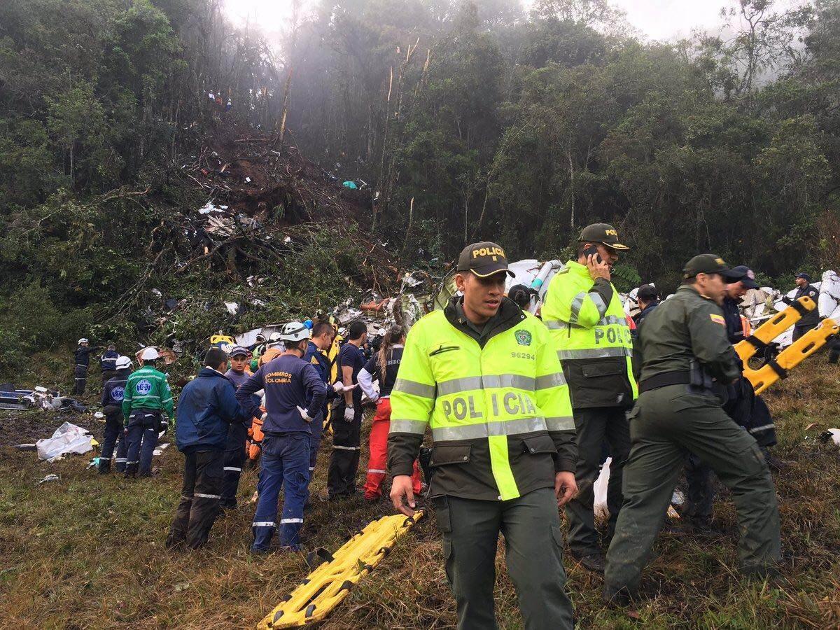 A equipe viajava para Medellín, onde disputaria a primeira final da Copa Sul-Americana, contra o Atlético Nacional
