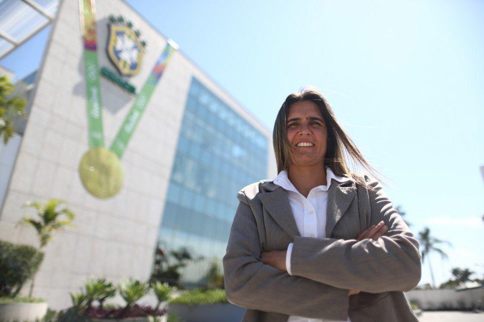 Emily Lima assumirá o comando técnico da seleção feminina   Foto: Divulgação/CBF