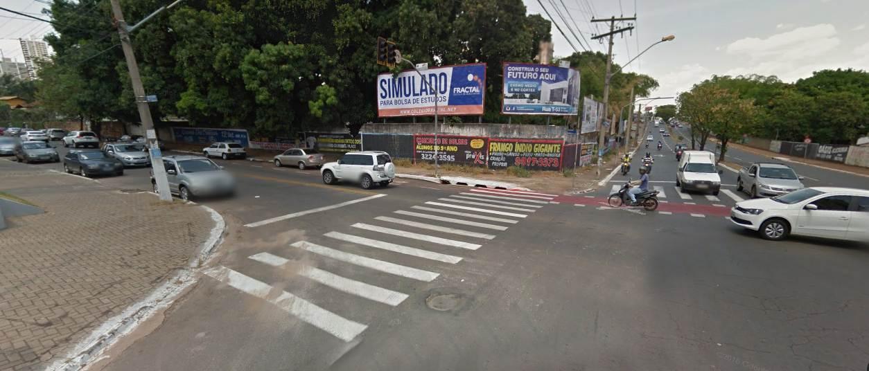 Avenida cruza importantes vias da região sul da capital, como T-7, T-9 e T-10   Foto: Reprodução/Google Maps