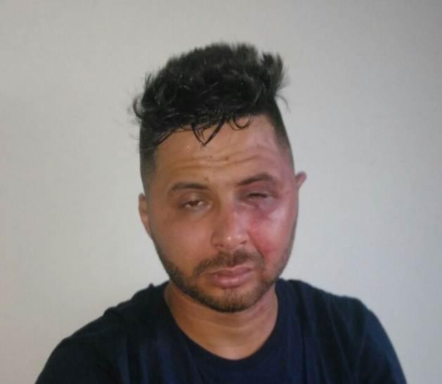 Johnathan Richard dos Santos Ramos, de 24 anos, é suspeito de estupro em Goiânia   Foto: Divulgação/PM