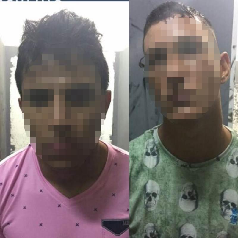 Suspeitos foram encaminhados para a Central de Flagrantes   Foto: Divulgação/Polícia