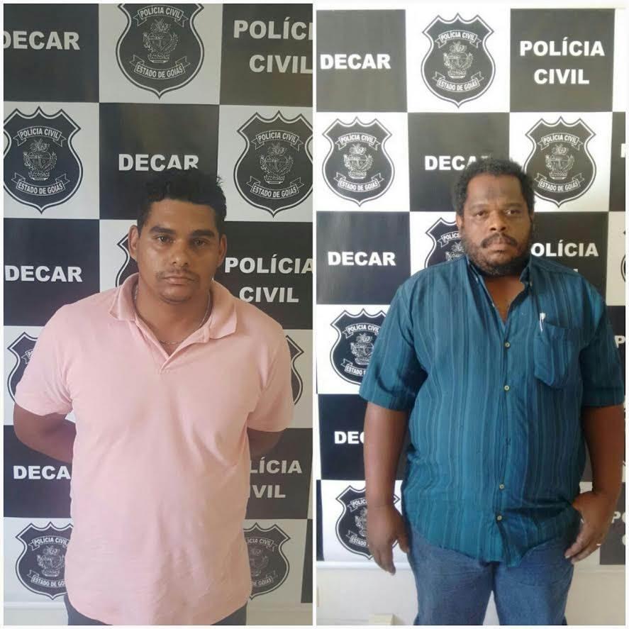Polícia Civil prende dupla suspeita de desviar cargas milionárias  Foto: Reprodução/Polícia Civil