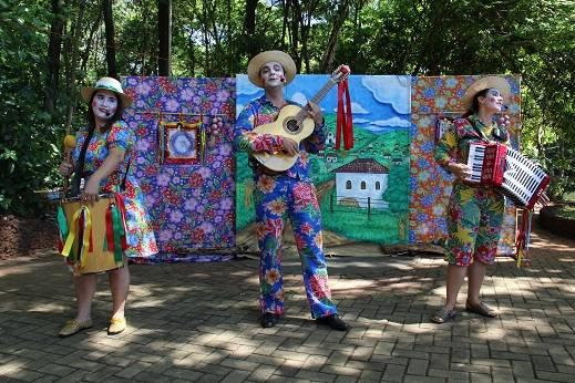 Espetáculo Arruda com Alecrim será apresentado no Bosque dos Buritis no dia 5 de fevereiro| Foto: Divulgação/Prefeitura de Goiânia