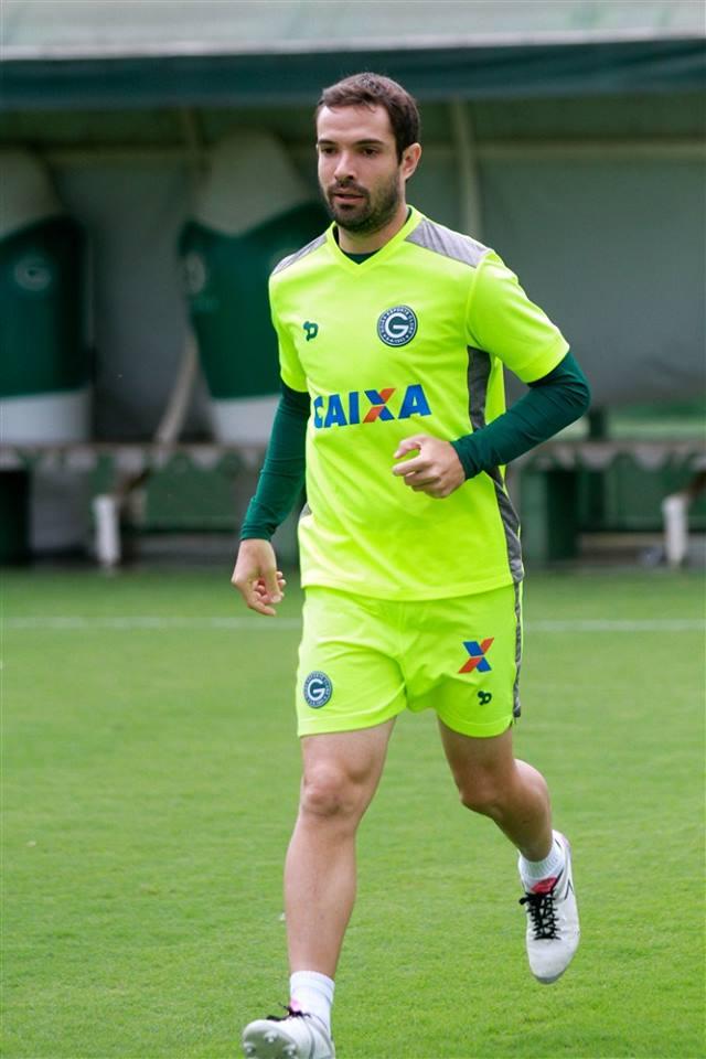 David tem 34 anos e vai vestir a camisa do Santa Cruz em 2017   Foto: Rosiron Rodrigues/Goiás E.C